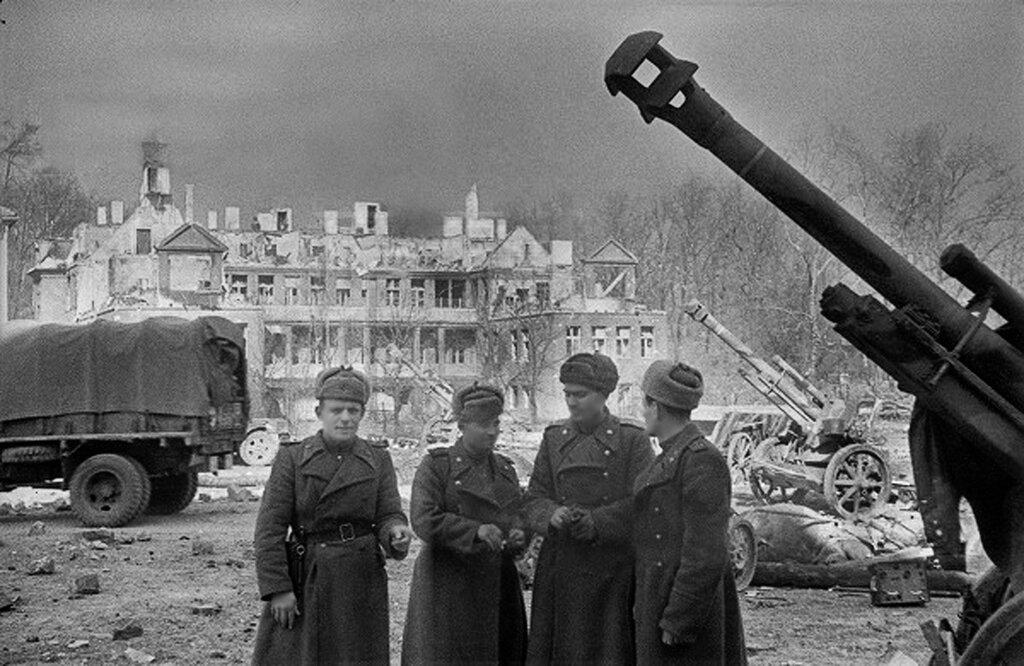 Konigsberg, april 9, 1945. (Kaliningrad since 1946)