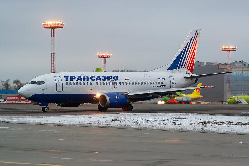 Boeing 737-524 (VP-BYN) Трансаэро D803529