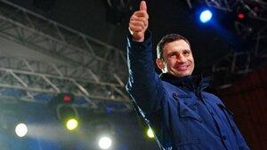 Виталий Кличко отказывается от спорта ради политики