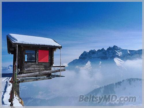 Горнолыжный курорт в Швейцарии — «Жизнь на грани»
