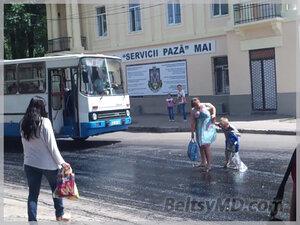 Ремонт главной улицы города Бельцы — стихийное бедствие