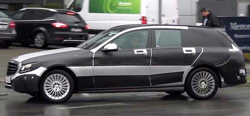 Mercedez-Benz тестирует универсал С-класса