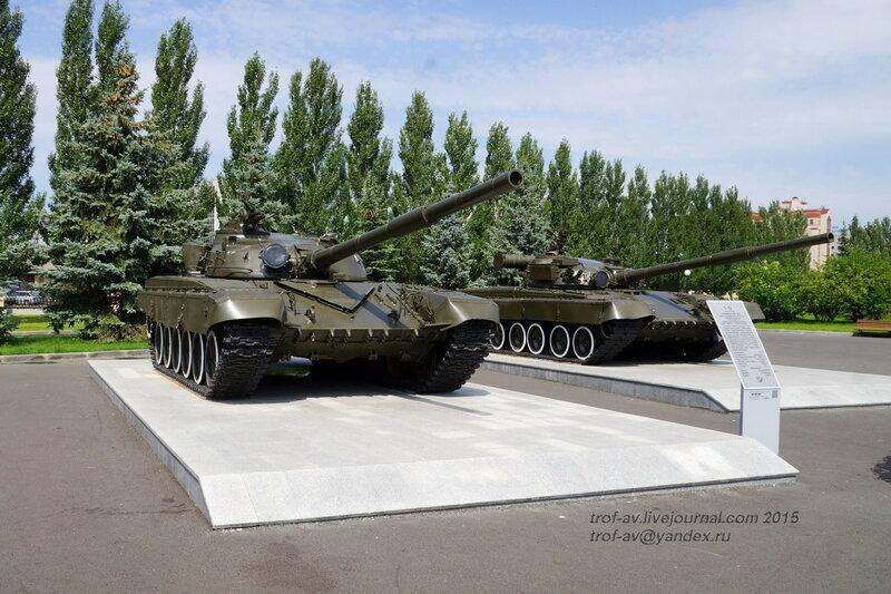 Танк Т-72 и Т-80, Парк Победы, Казань