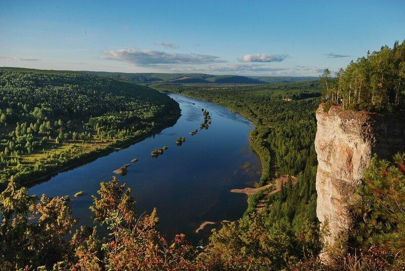 Уникальная точка Урала. Река Вишера!