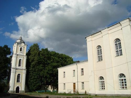 Отдых в Беларуссии: Несвиж, монастырь бенедикток