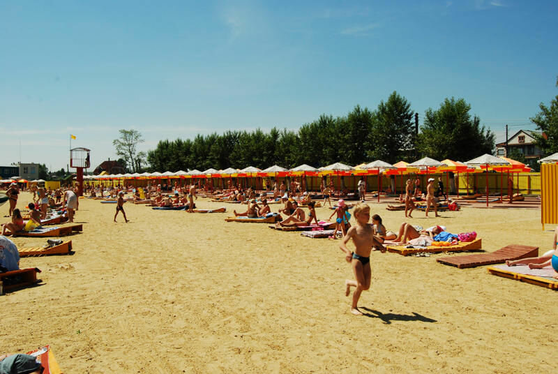 Пляж ″Солнечный берег″ (24.06.2013)