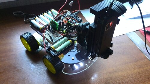 Робот на базе Arduino