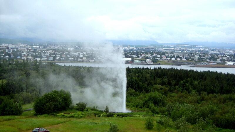 Исландия в огне!)