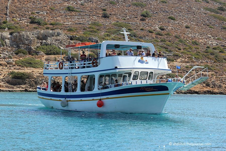 Греция. Крит. Спиналонга — остров прокаженных