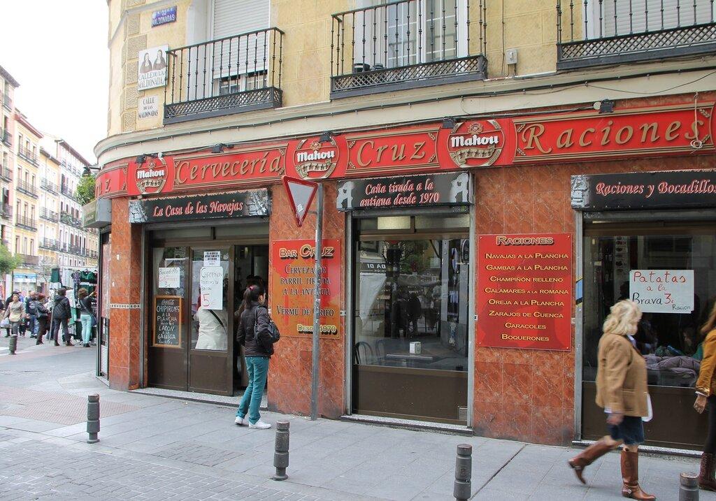Мадрид. Пивная 'Крест' (Cervecería Cruz)