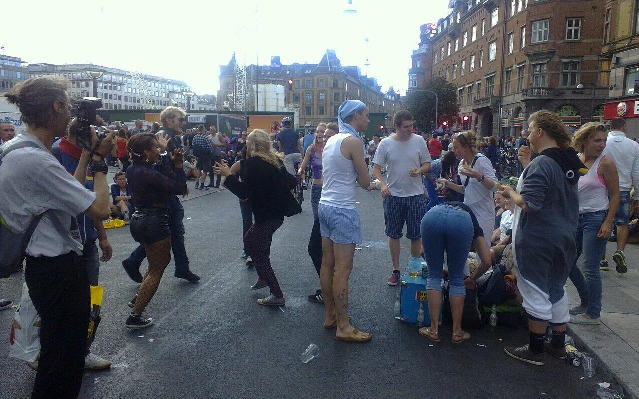 Copenhagen pride parade 24/08/2013