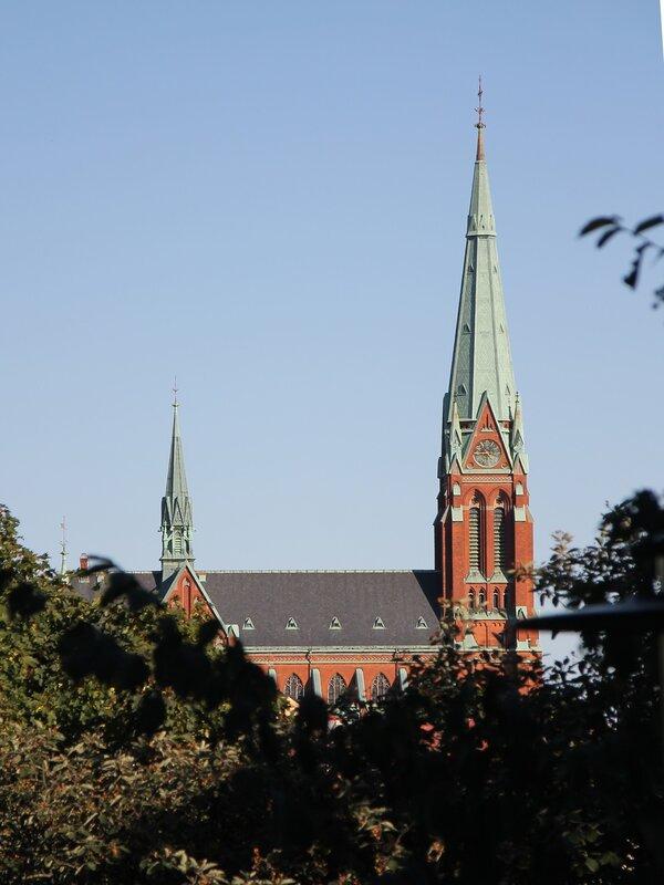 Stockholm. The Church Of St. John. Stockholm. Johanniskyrkan