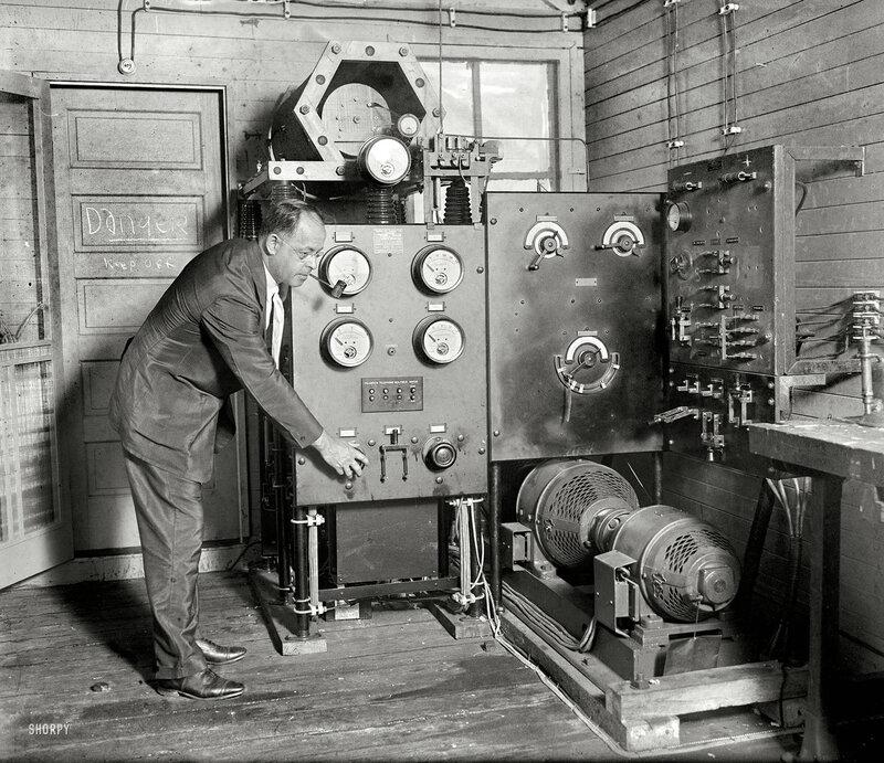 June 29, 1925. Dr. H.C. Hayes of U.S. Naval Research Lab, Bellevue, D.C.