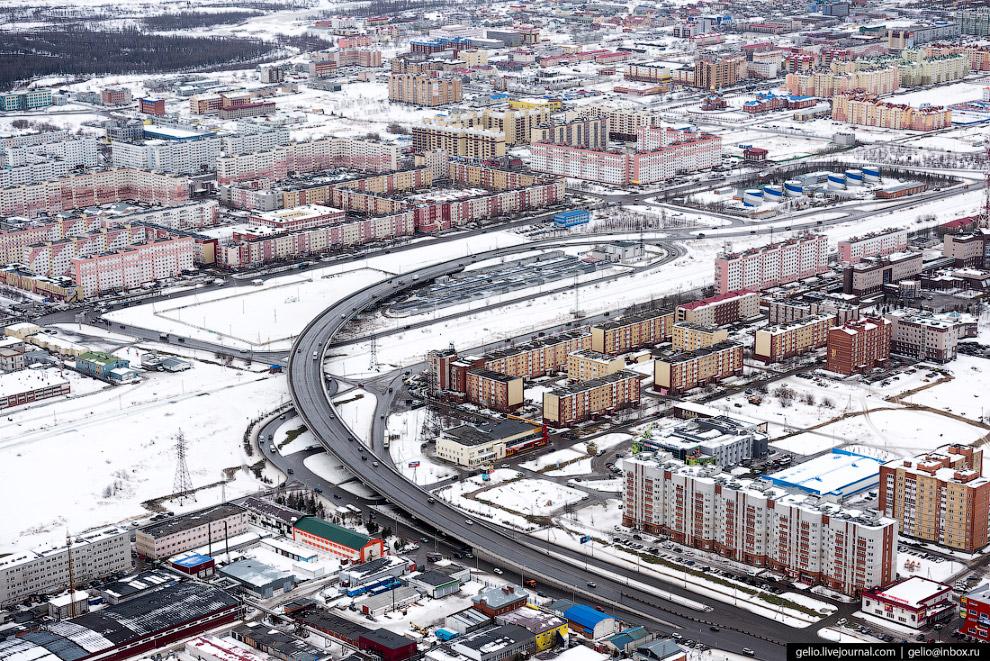 19. Северная часть города.