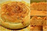 Французский хлеб с сыром и чесноком