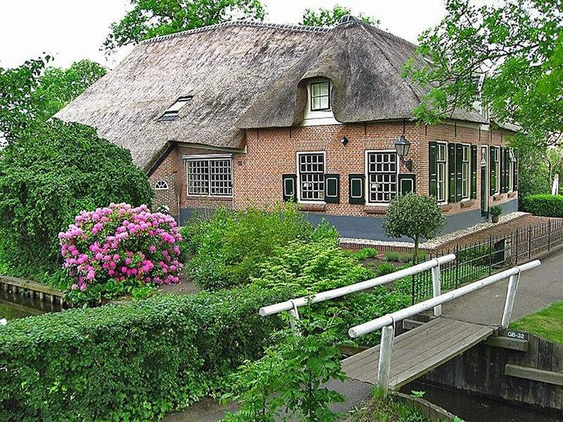 Деревня Гитхорн - Голландская Венеция