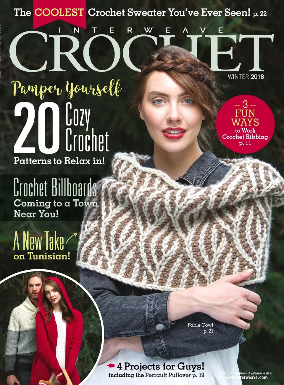 Interweave Crochet — Winter 2018-ng