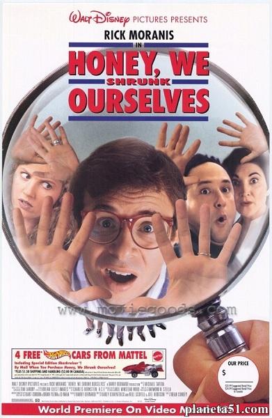 Дорогая, мы себя уменьшили / Honey, We Shrunk Ourselves (1997/DVDRip)