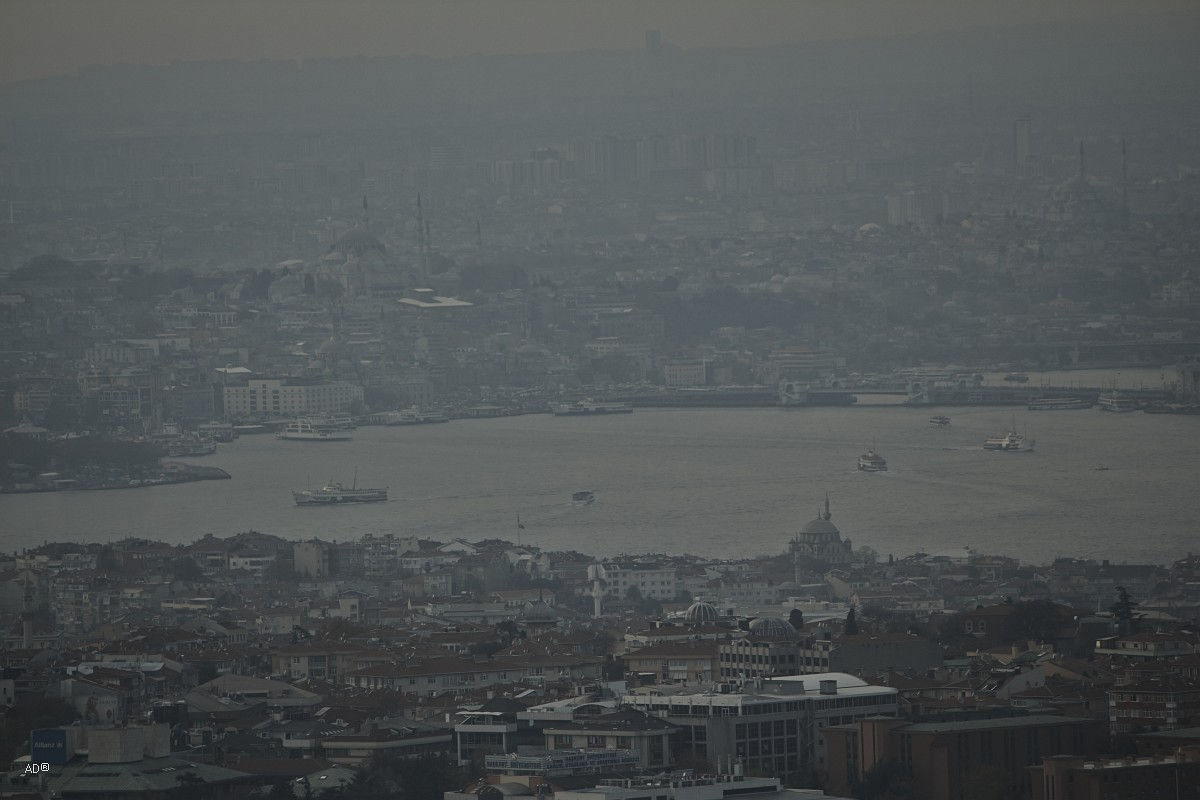 Обзорная площадка в Чамлыджа, Стамбул