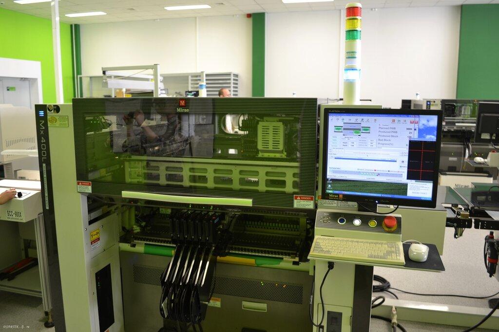 Светозар. Автомат расстановки электронных компонентов.