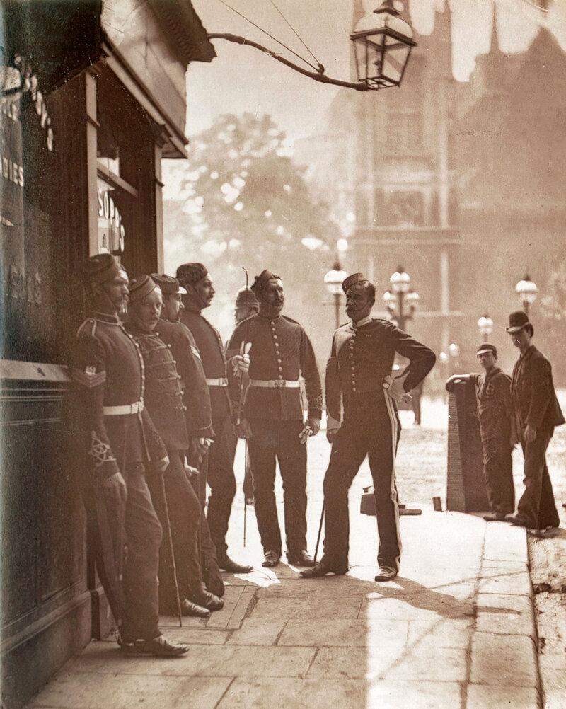Вербовка в армию, Вестминстер, 1877