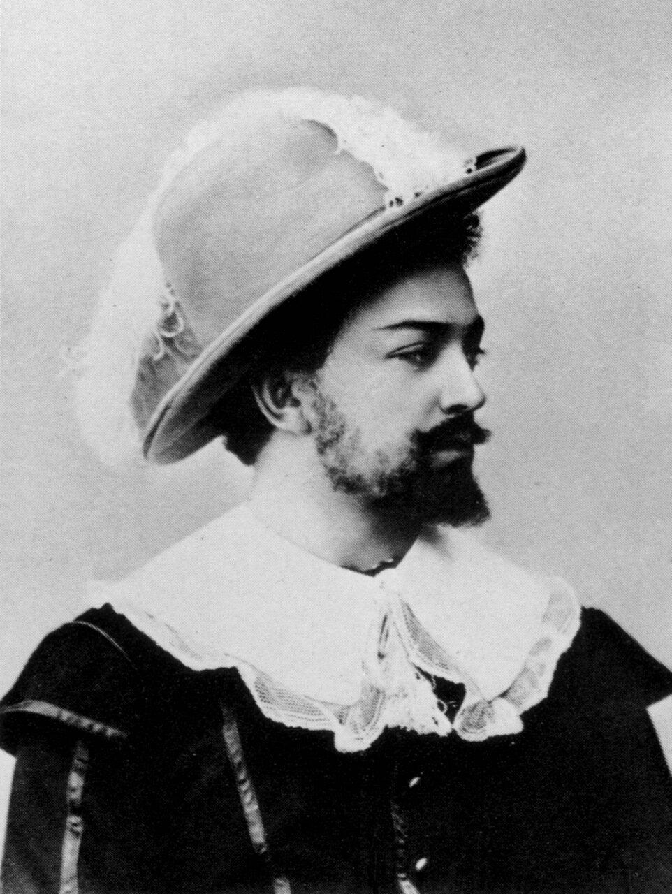 Собинов в роли Лоэнгрина. 1920 год