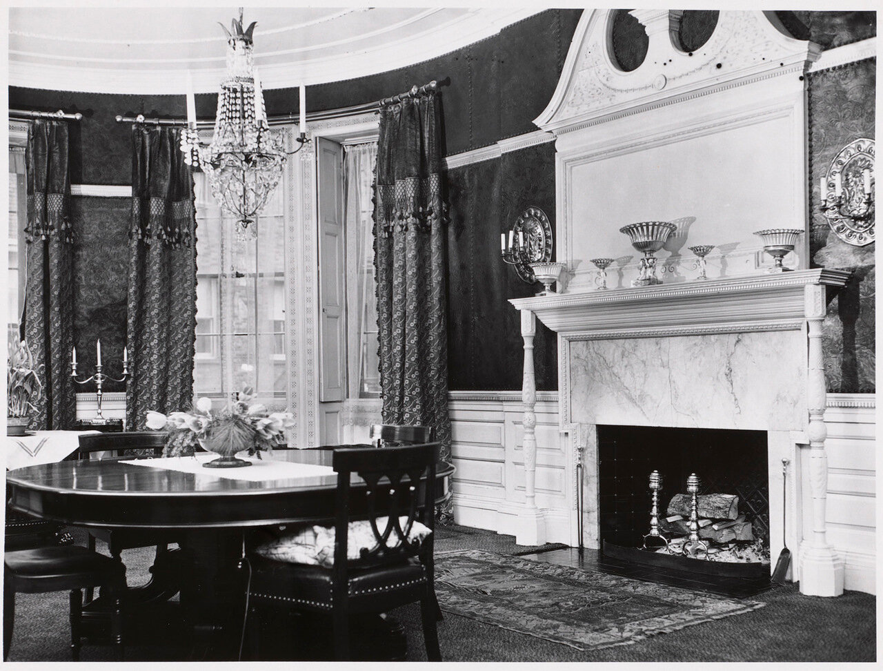 1960. Интерьер дома Сирса