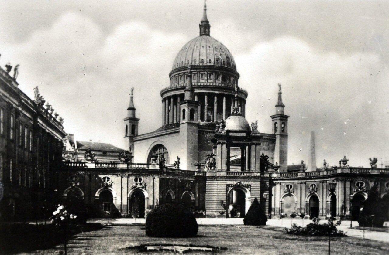 Потсдам. Ворота Удачи. Май 1933