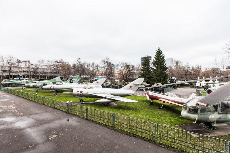 Смотровая площадка Центрального Музея Вооруженных Сил