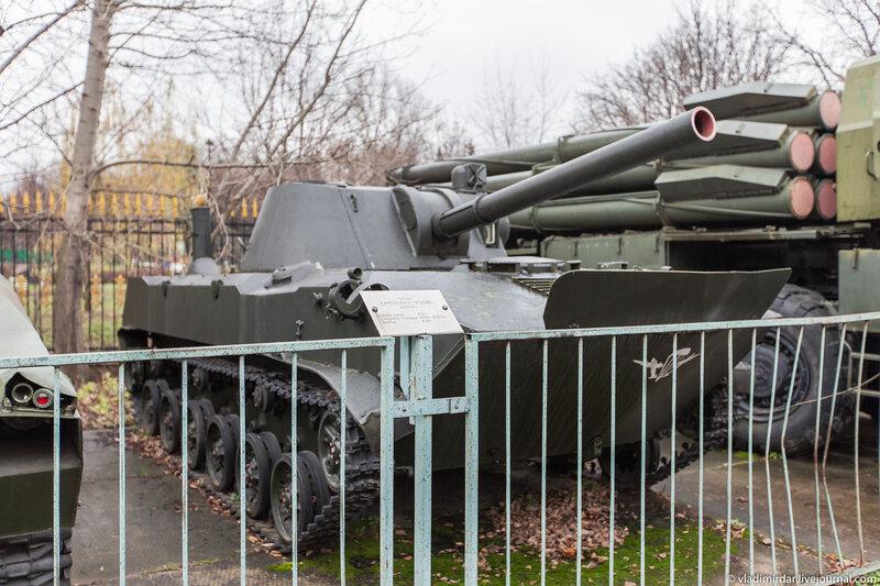 Самоходное 120 мм орудие 2С9 «Нона»