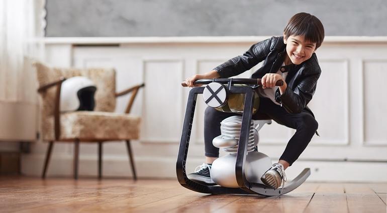 Детская мотокачалка Moto Rocker