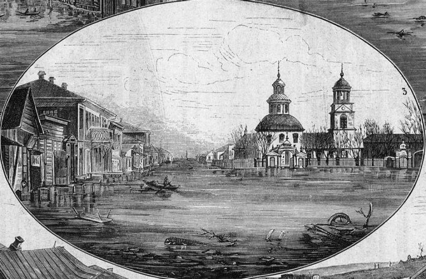 1877 Кременчуг. Церковь Рождества Христова. Всемирная иллюстрация.jpg