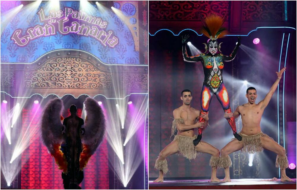 Конкурс боди-арта на карнавале в Лас Пальмасе де Гран Канария