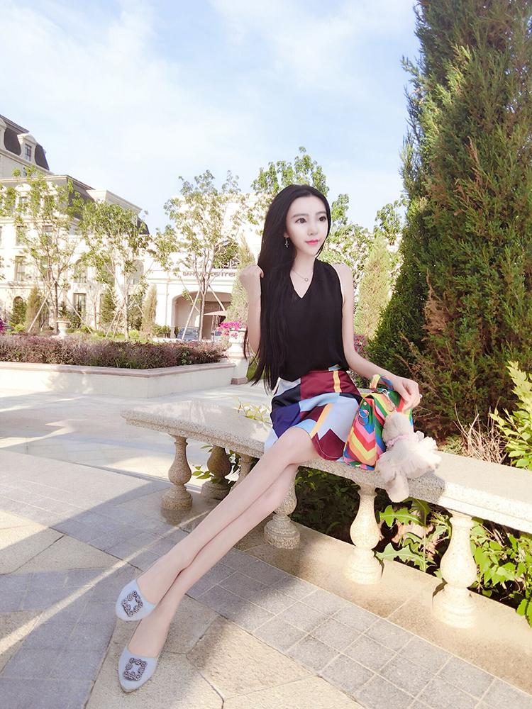 Глазастая китаянка весом 20 кг