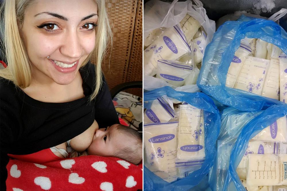 Мама двоих детей продает свое грудное молоко... мужчинам