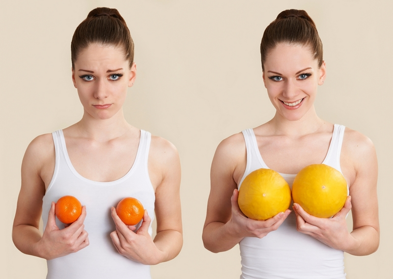Женский характер в зависимости от формы груди