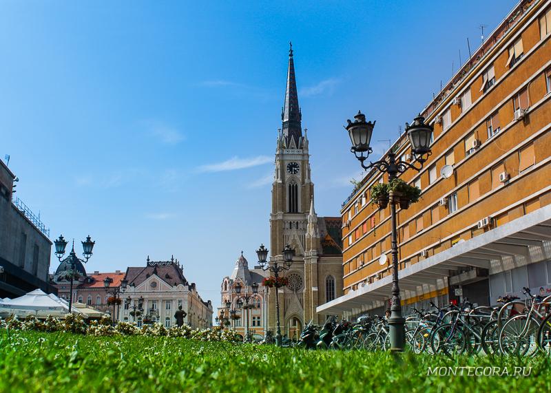 Нови сад - второй по величине город Сербии, где приятно прогуляться по центру города