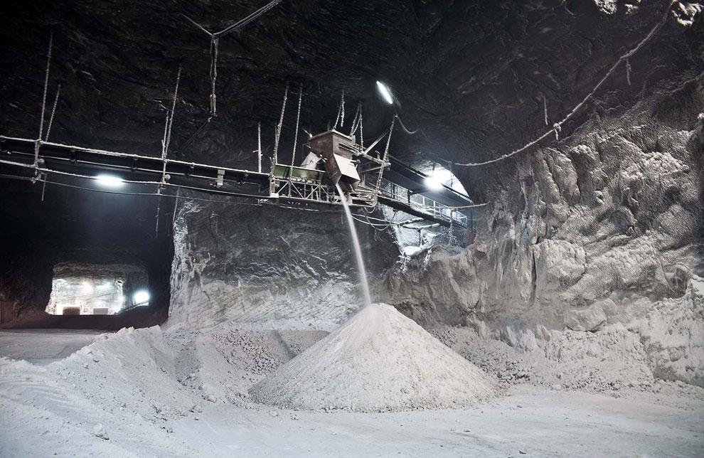 Белое золото Сицилии: соляная шахта