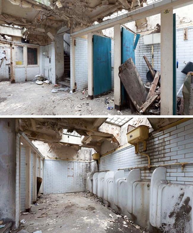 заброшенные места Заброшенные объекты жилье апартаменты дома кран Дом-2 совершенно