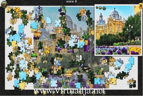 1001 Пазл Вокруг Света: Замки и дворцы