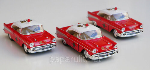 Kinsmart Chevrolet Bel Air Fire Chief 1957