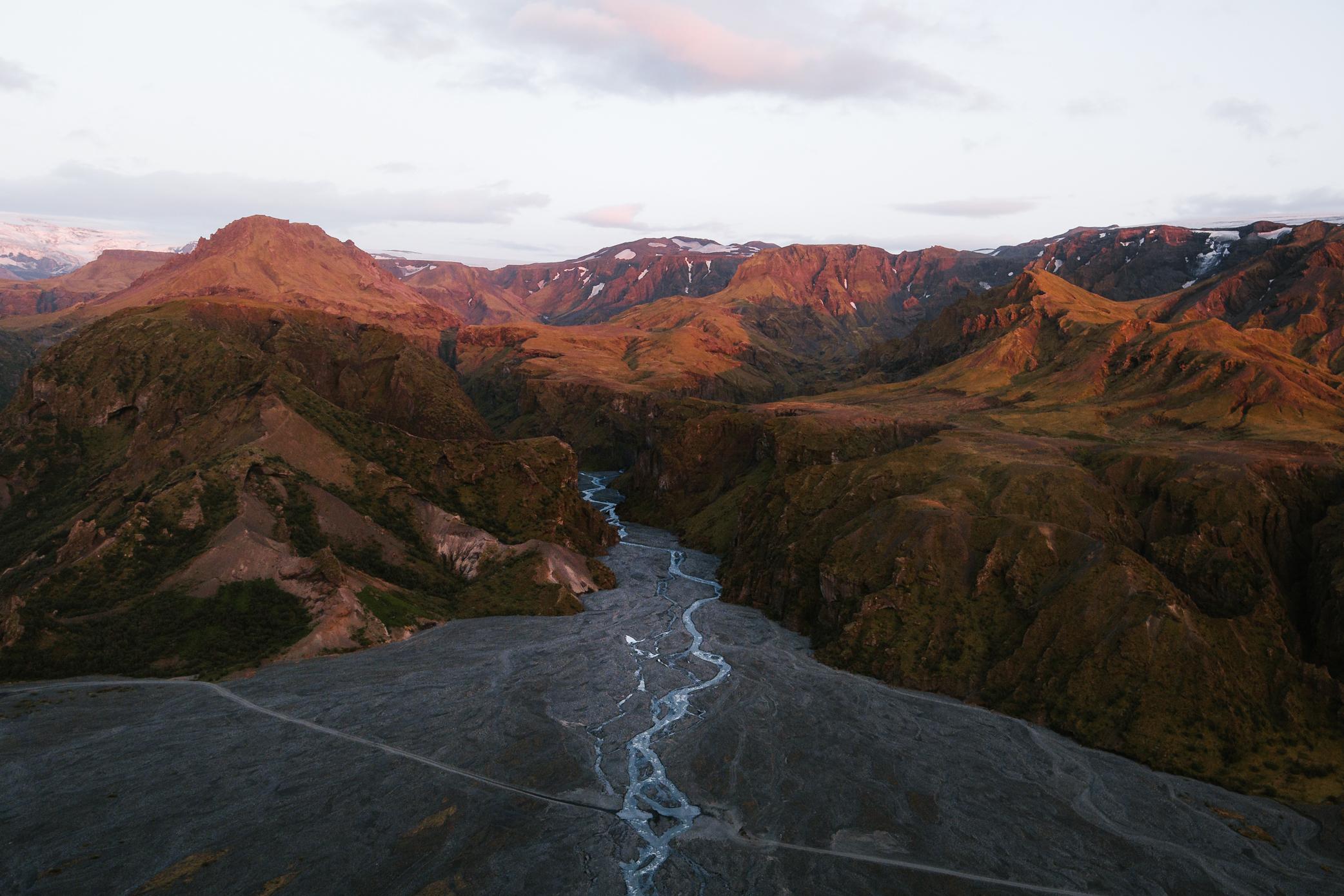 Stunning Landscapes of Iceland During Golden Hour