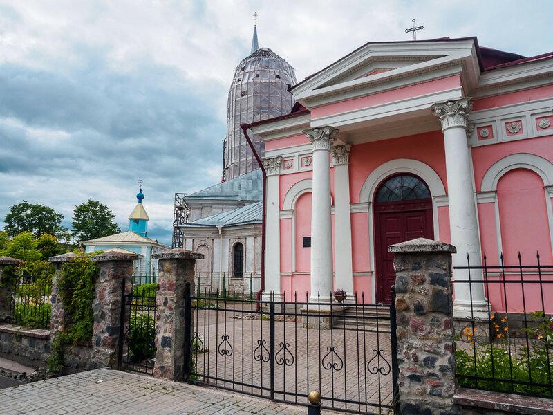 Казанская часовня, Благовещенский собор, Никольский храм.