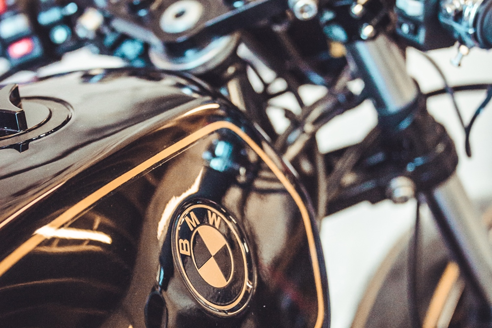 JM Customs: кафе рейсер BMW R45
