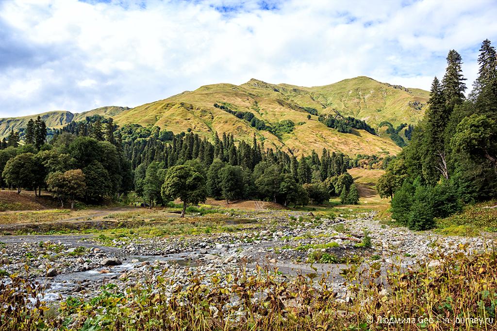 за этими горами - Кавказ