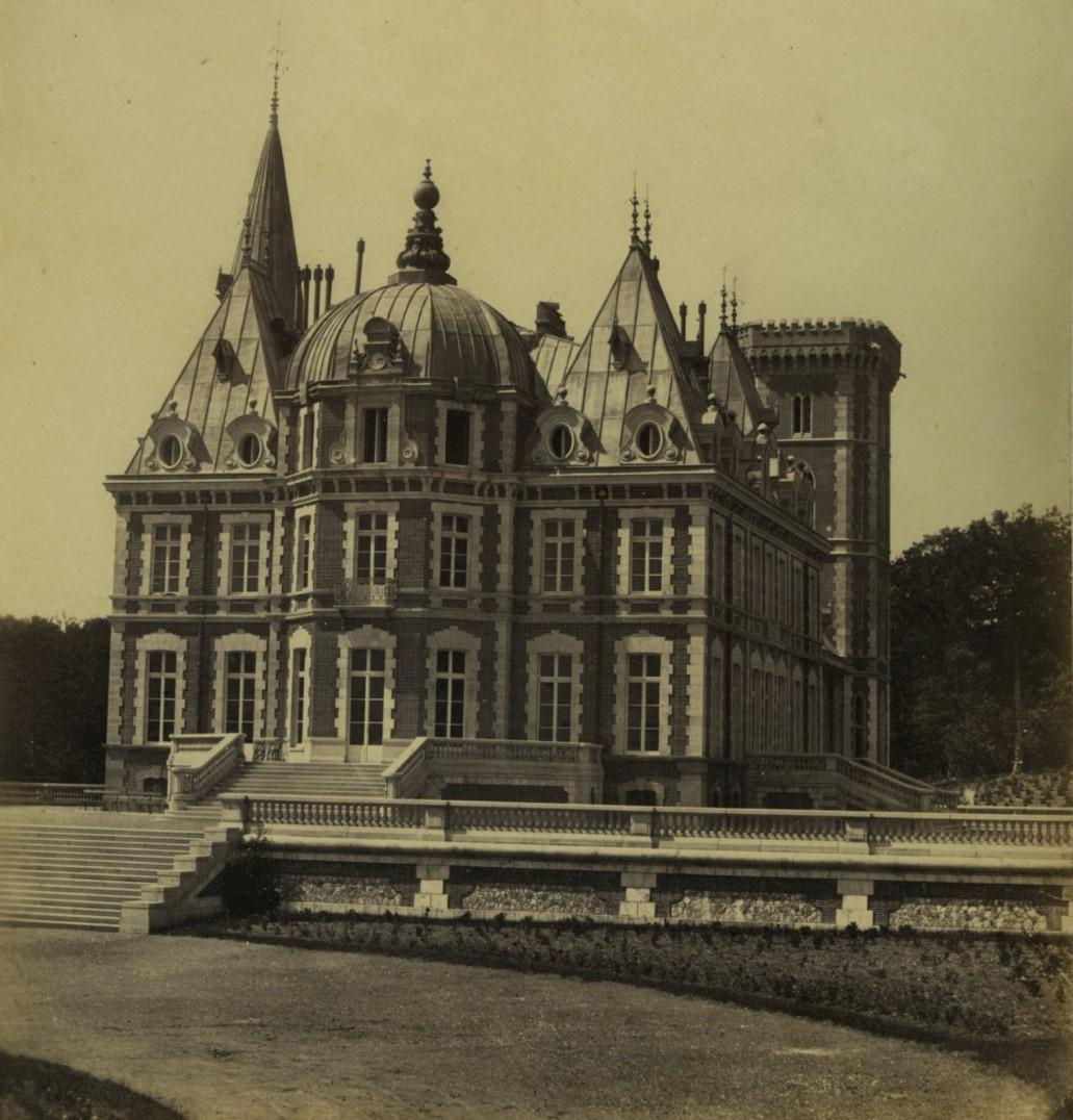 1860-е. Замок герцогов Бретонских