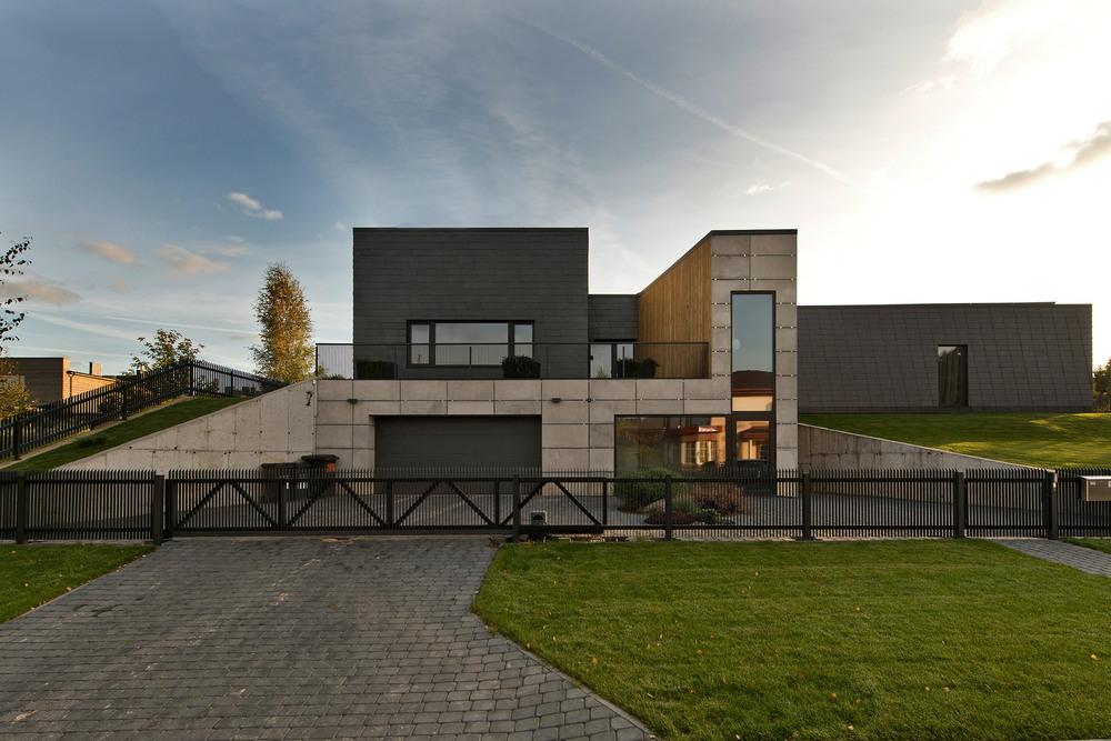 Современный дом в Вильнюсе