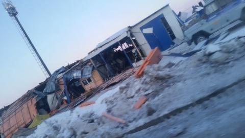 Сторож получил ожоги при взрыве вавтосервисе вНабережных Челнах