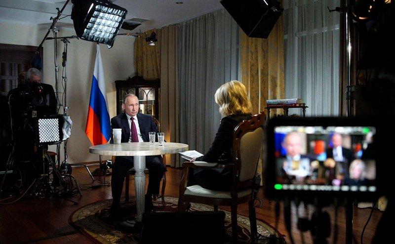 Путин: полный текст интервью телеканалу NBC