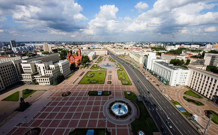 Виртуальная прогулка: высотный Минск